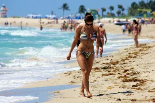 Нудистский пляж Майами