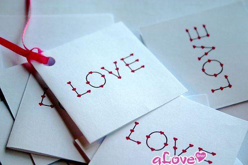 Открытка про любовь своими руками