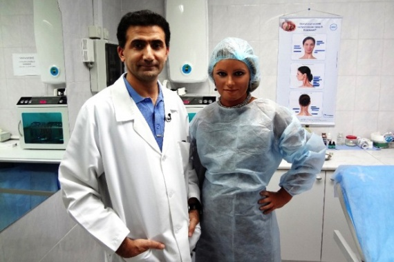 Гайк Бабаян и Дана Борисова