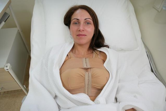 Силиконовая форма груди